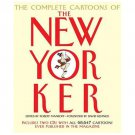 LIKE NEW*2004*THE COMPLETE CARTOONS OF THE NEW YORKER*INCLUDES 2 DVD'S*68,647 CARTOONS*656 PAGES*