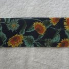 NEW*1990*VINTAGE CLOTH RIBBON*SUNFLOWERS AND MAGNOLIA BLOSSOMS