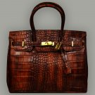 Leather Handbag Made In Italy