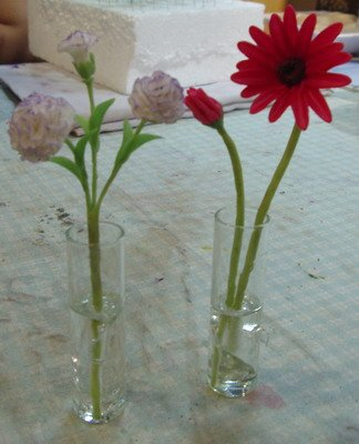 Clay flower  CL0026