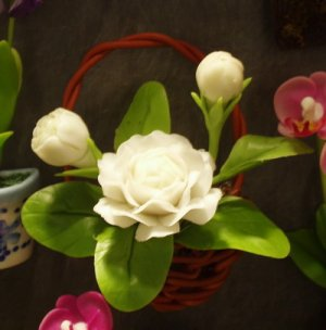 Clay flower  CL0024