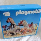 1992 PLAYMOBIL Western CORRAL or FARM APPALOOSA COLT MARE STALLION FOAL 3299 MIB