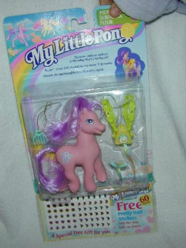 1997 MLP My Little Pony MORNING GLORY + FREE BONUS Secret Surprise G2 MOC