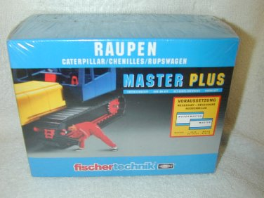 1990 Fischertechnik MASTER PLUS MOTOR CATERPILLAR ADD ON KIT #30312 OLD STOCK