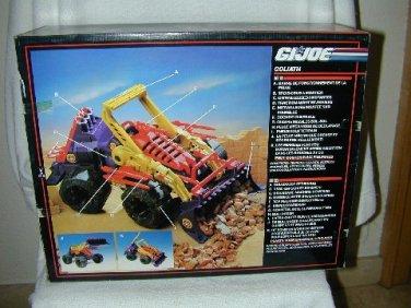 1992 GI JOE Cobra EARTHQUAKE aka Goliath # 6239 MIB OLD STORE STOCK European Box