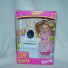 NIB MATTEL BARBIE 'S LITTLE SIS KELLY LI'L FRIEND EURO EXCL vanity 1998 SHELLY