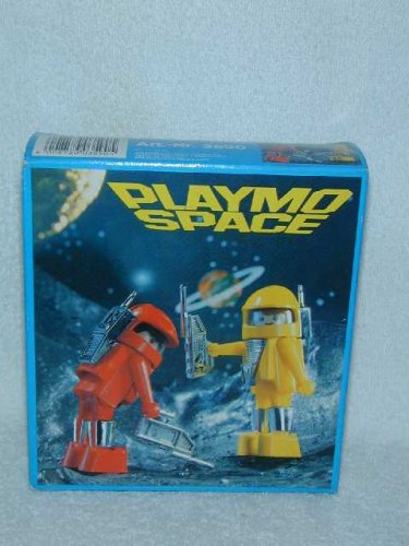 KLICKY 1981 PLAYMOBIL First Issue PLAYMO SPACE Explorers ASTRONAUTS 3590 MISB
