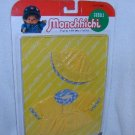 MONCHHICHI Sekiguchi RAIN SLICKER 2 pc CLOTHING Set 21 CM Girl Boy MOC VINTAGE