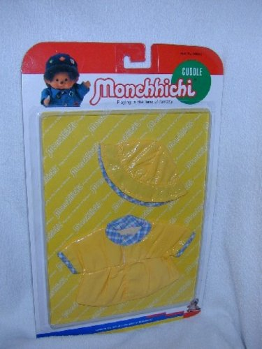 MONCHHICHI Sekiguchi RAIN SLICKER 2 pc CLOTHING Set 21 CM Girl Boy MOC VINTAGE