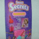 SWEET SECRETS Guitar BUTTERFLY Add-On Charm Necklace MOC # 4630