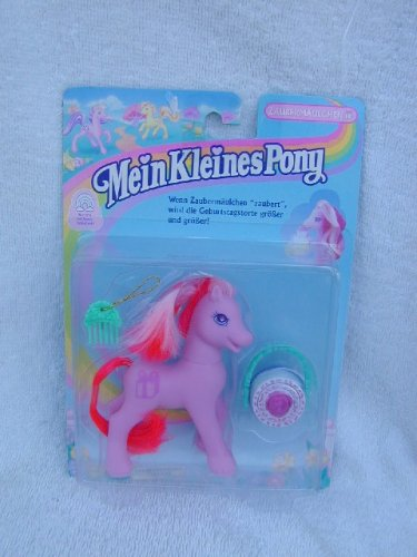 EURO EXCLUSIV 1997 MLP My Little Pony CUPCAKE MAGIC CAKE Secret Surprises G2 MOC