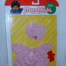 MONCHHICHI Sekiguchi SLEEPY NIGHTGOWN Bear 3 pc CLOTHING 21CM GIRL MOC VINTAGE