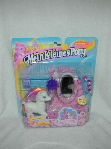 EURO EXCLUSIVE 1999 LADY LIGHT HEART + MAGIC MIRROR My Little Pony MLP G2  MOC