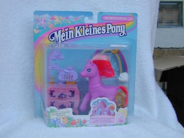 EURO EXCLUSIVE 1998 MOON SHADOW with DRESSER MAGNET My Little Pony MLP G2   MOC