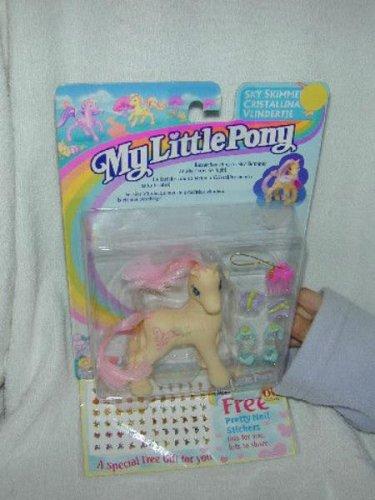 1997 MLP My Little Pony SKY SKIMMER + FREE BONUS Secret Surprise G2 MOC