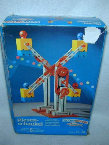 1982 NEW Fischertechnik RIESENSCHAUKEL GIANT FERRIS WHEEL 30453 LAST DENTED BOX