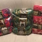 Mixed BOA LOT OF 10 - BERNAT Chick PINK Green KIWI Multi NEW Large 100 Gr Skeins