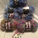 NEW 7x YARN Lot BERNAT BLING BLING Eyelash FANCY Tickle Whisper LACY JEWEL HEART