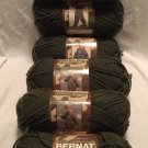 HTF NEW 6x DISCONTINUED Bernat FOREST CAMO ARMY GREEN Camouflage SOLD OUT YARN