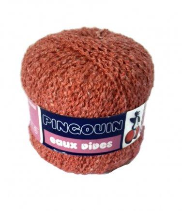Pingouin Yarn Eaux Vives Dark Rose 55239 Acrylic DK Double Knitting France New