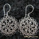 925 Silver Bali Filigree Style Earrings SE-139-KT