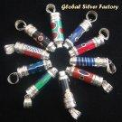 Wholesale 10 Pieces Silver Essential Oil Pendants SSB-160-GSF