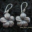 Sterling Silver Frangipani Earrings SE-136-KT
