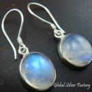 925 Silver & Rainbow Moonstone Earrings ER-381-KT