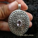 Sterling Silver Amethyst Locket Pendant LP-162-KA