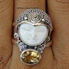 Silver Topaz Goddess Ring GDR-380-PS
