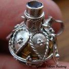 925 Silver Amethyst & Brass Harmony Ball HB-258-KT