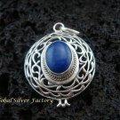 925 Silver & Lapis Lazuli Pendant SP-379-KT