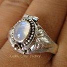 925 Silver Moonstone Poison Ring LR-512-KT