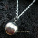 925 Silver 20mm Chime Ball Pendant + Chain CH-322-KT