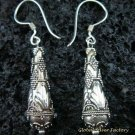 925 Silver Traditional Balinese Earrings SE-108-KA