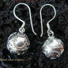 925 Silver Chime Ball Earrings CBE-151-KT