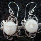 Sterling Silver Goddess Earrings GDE-920-NY