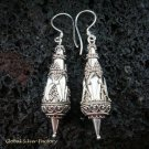 Sterling Silver Bali Design Earrings SE-143-KA