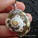 Sterling Silver Shell Pendant SP-460-KT