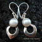 Sterling Silver Pearl Earrings ER-560-KT