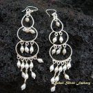 925 Silver Pearl Bead Earrings ER-159-KT
