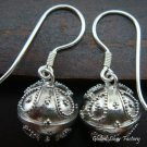 925 Silver Bali Chime Ball Earrings CBE-119-KT