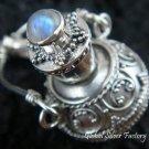 925 Silver Moonstone Perfume Pendant PP-227-KT