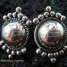 Sterling Silver Bali Stud Earrings SE-154-KT