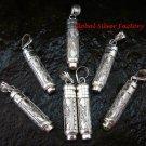 7 x Wholesale Silver & Cremation Pendants SSB-295-GSF