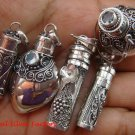 5x Wholesale Lot Mixed Style Cremation/Keepsake Pendants SSB-351-GSF