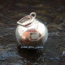 925 Silver 18mm Smooth Chime Ball Pendant CH-327-KT
