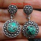 Hand Made 925 Sterling Silver Armadillo Design Turquoise Dangle Earrings ER-632-KT