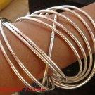 Ten Fancy Latest Design Sterling Silver Bangle SBB-392-PS
