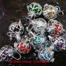 HOT Deal 10 x Wholesale Lot 16MM Sterling Silver Bali Harmony Ball SSB-354-GSF